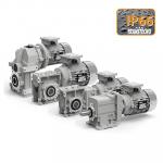 Мотор-редукторы с двигателями переменного тока с защитой IP 66