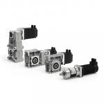 Мотор-редукторы с двигателями постоянного тока