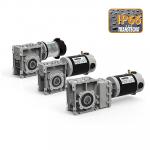 Мотор-редукторы с двигателями постоянного тока c защитой IP 66