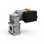 Цилиндрические мотор-редукторы с параллельными валами серии KFT105